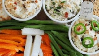 Delicious Cheese Dips (3 Varieties | Cold or Hot)
