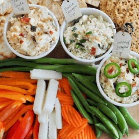 Delicious Cheese Dips (3 Varieties   Cold or Hot)