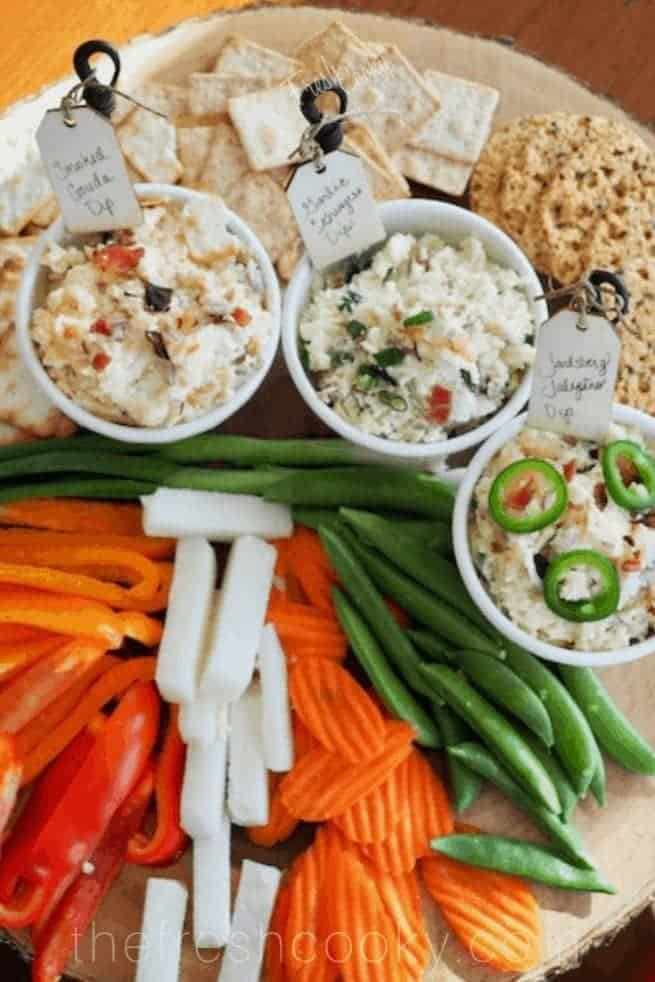 Cheese Dips | 3 ways | www.thefreshcooky.com