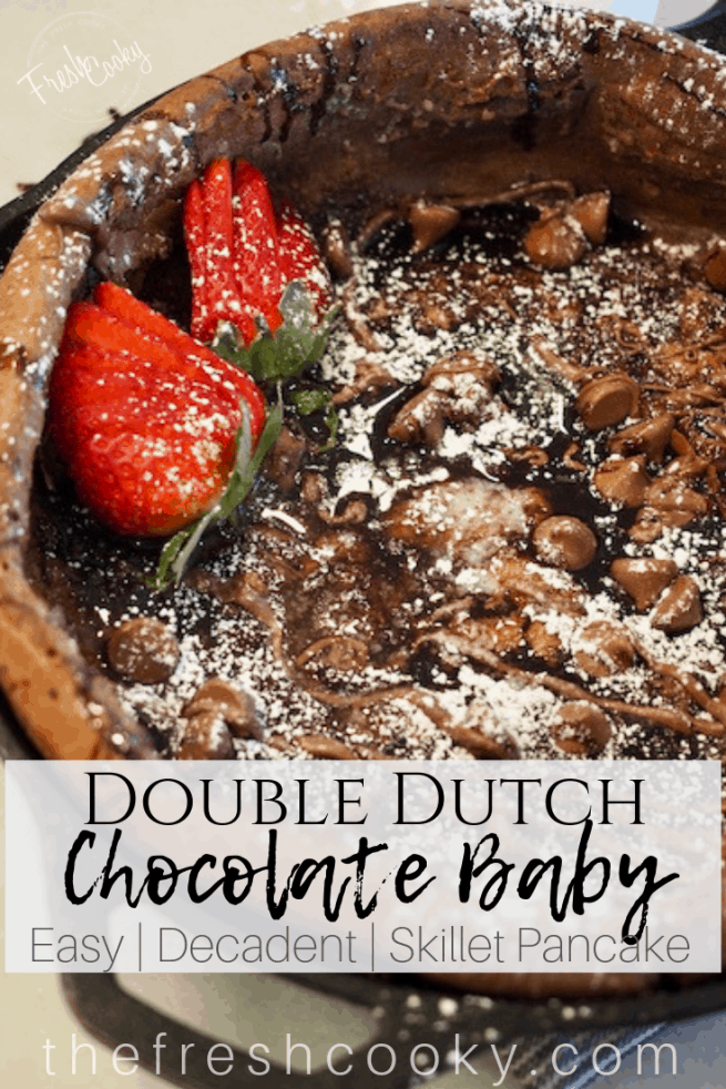 Double Dutch Chocolate Baby | www.thefreshcooky.com