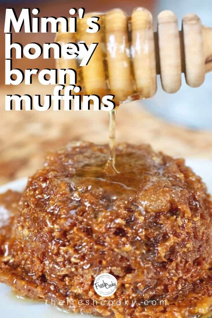 Copycat Mimi's Cafe Honey Bran Muffins are so crazy delicious! Tender, soft, whole grain and sweetened with honey. Tastes just like Mimi's only better, cause you make them! Recipe via @thefreshcooky |#honeybranmuffins #branmuffins #muffin #copycat #mimiscafe #honeybranmuffins #wholegrain #healthy #glaze #orangezest via @thefreshcooky