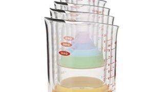 OXO Good Grips 7-Piece Nesting Measuring Beaker Set, Multicolored