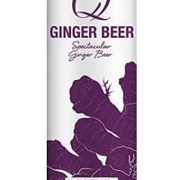 Q Drinks, Q Ginger Beer Spectacular Ginger Beer, 12 Fl Oz Slim Can (Pack of 12)