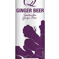Q Drinks, Q Ginger Beer Spectacular Ginger Beer, 12 Fl Oz Slim Can (Pack of 12)