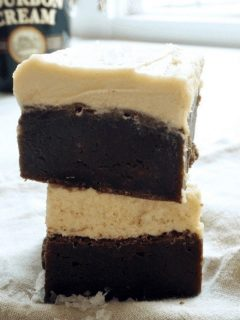 Stacked Beer Brownies | www.thefreshcooky.com