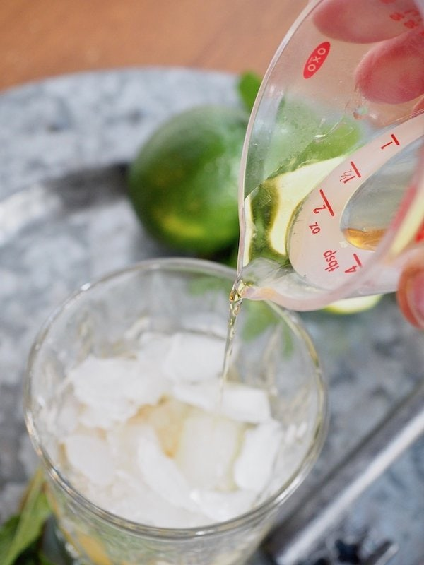 Pouring in Whiskey | www.thefreshcooky.com