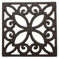 Decorative Cast Iron Trivet For Kitchen Or Dining Table
