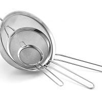 Cuisinart Set of 3 Fine Mesh Stainless Steel Strainers