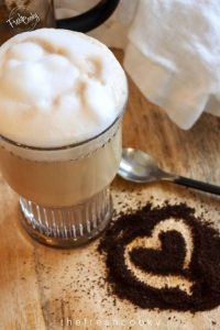 Glass of Bulletproof Coffee + Benefits | www.thefreshcooky.com