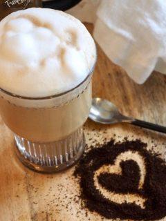 Glass of Bulletproof Coffee + Benefits   www.thefreshcooky.com