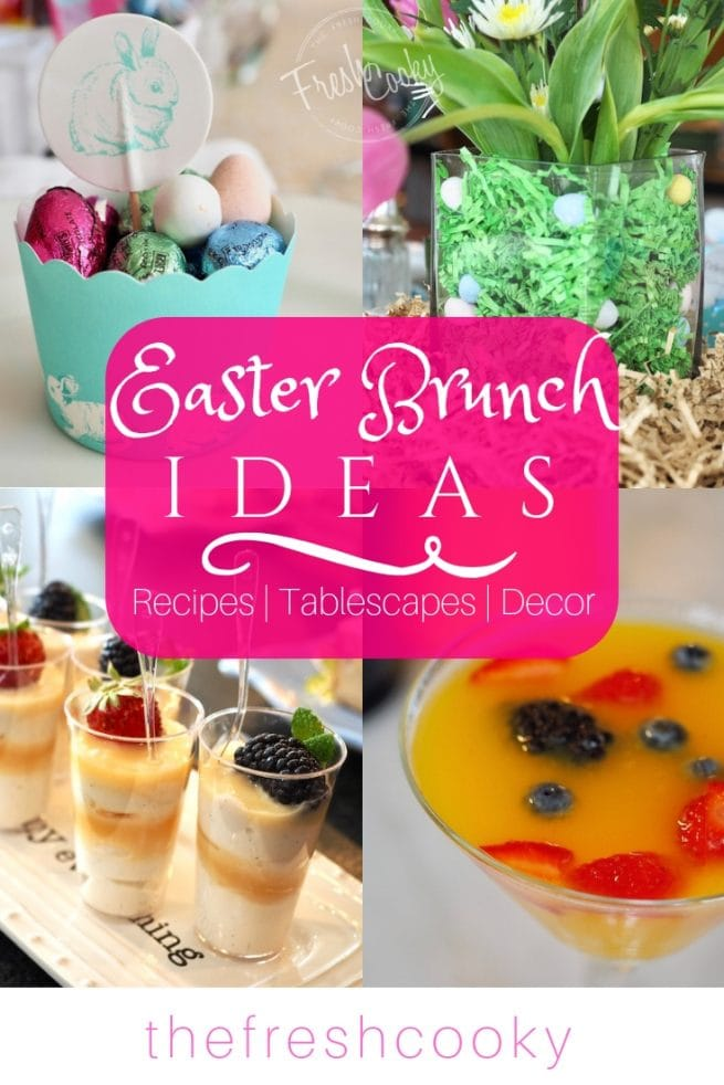 Easter Brunch Ideas | www.thefreshcooky.com