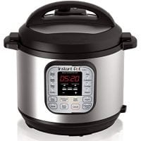 Instant Pot 6 Qt 7-in-1 Multi-Use Programmable Pressure Cooker, Slow Cooker,