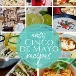 Multiple pictures of mexican food for Cinco de Mayo | www.thefreshcooky.com