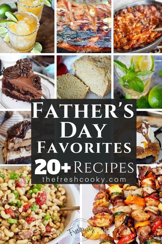 Celebrate Dad this year with these amazing and simple recipes. Great for a BBQ or party, these are my go-to recipes for any Summer gathering. Click the image for the collection www.thefreshcooky.com | #grillrecipes #summerrecipes #bestfathersdayrecipes #easyrecipes #summergrillingrecipes #cooldesserts #fathersday #barbecue via @thefreshcooky