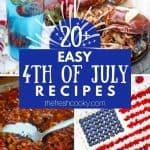 Red, White & Blue Patriotic Recipes