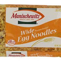 Manischewitz Wide Noodles, 12 Oz, Pack of 1