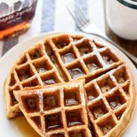 Blender Whole Wheat Waffles