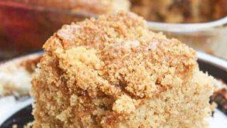 Cinnamon Coffee Cake with Buttermilk