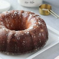 Kentucky Butter Bundt Cake – A Moist & Delicious Recipe