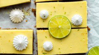 Easy Key Lime Bars Recipe