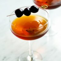 How to make a classic Manhattan (cocktail)