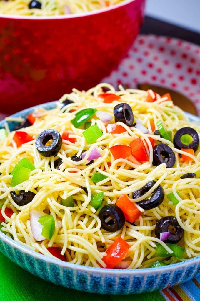 Shelly's Spaghetti Pasta Salad