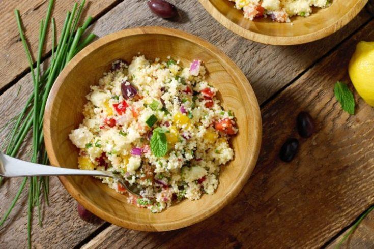 Healthy Mediterranean Couscous Salad