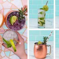 Refreshing Summer Cocktails 4 Ways