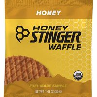 Honey Stinger Organic Waffle, Honey, Sports Nutrition, 1.06 Ounce (16 Count)
