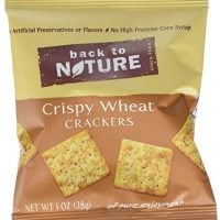 Back to Nature Non-GMO Crispy Wheat Crackers, 8 Count