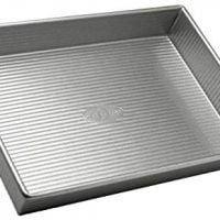 USA Pan Bakeware Rectangular Cake Pan, 9 x 13 inch, Nonstick