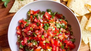 The Best Homemade Fresh Tomato Salsa