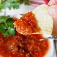 Easy Homemade Blender Salsa
