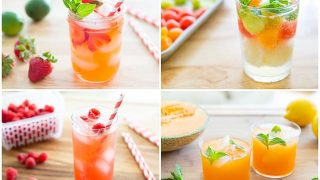 4 Refreshing Summer Drinks - All Non Alcoholic and Easy to Make!