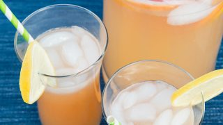Pink Grapefruit Lemonade | Paleo Leap