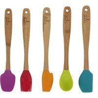 Core Kitchen 11210 5 Piece Crete Mini Utensil Set, 1-Pack, Multicolor