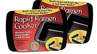 Rapid Ramen Cooker - Microwave Instant Ramen Noodles in 3 Minutes (Pack of 2)