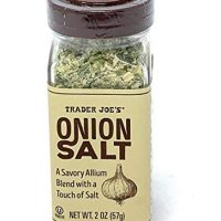 Trader Joe's Onion Salt Savory Allium Blend Seasoning Salt 2 Oz.