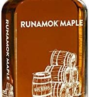 Runamok Maple, Bourbon Barrel Aged Organic Vermont Maple Syrup, 8.45 Ounce, 250mL