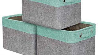 Sorbus Storage Large Basket Set [3-Pack] - 15 L x 10 W x 9 H
