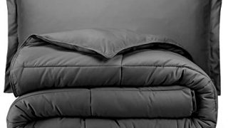 Bare Home Comforter Set -Twin Extra Long - Goose Down Alternative -