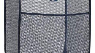 Mesh Popup Laundry Hamper - Portable, Durable Handles,