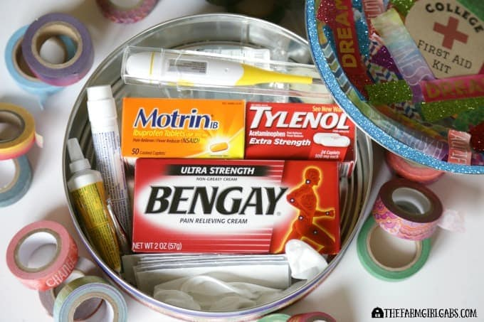 College First Aid Kit