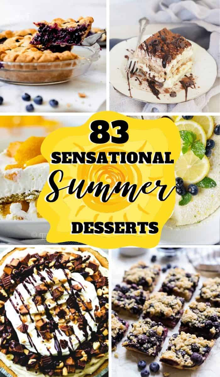 Easy Summer Dessert Recipes The Fresh Cooky