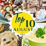Top Ten Recipes | August