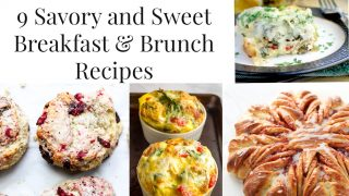 Brunch & Breakfast Recipes for Christmas & Holiday • Nourish and Nestle
