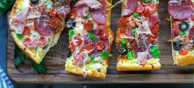 Supreme Bread Pizza
