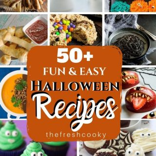 Pin for 50 Fun and Easy Halloween Recipes