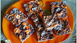 Death by Chocolate Halloween Krispie Treats