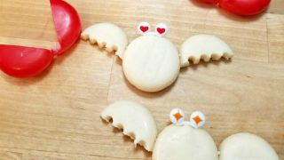 Easy Halloween Snack: Cheese Bats with Mini Babybel® ⋆ Exploring Domesticity